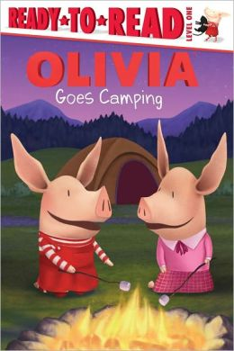 Olivia Goes Camping (Ready-to-Read Series Level 1)