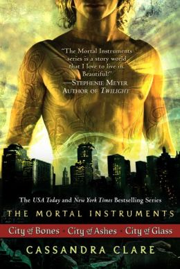 The Mortal Instruments (3 books): City of Bones; City of Ashes; City of Glass