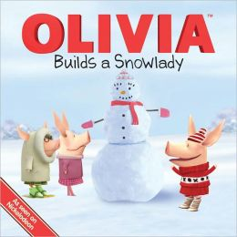 Olivia Builds a Snowlady