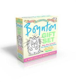 Boynton Gift Set: Special 30th Anniversary Edition!/The Going-to-Bed Book; Moo, Baa, La La La!; Opposites; But Not the Hippopotamus