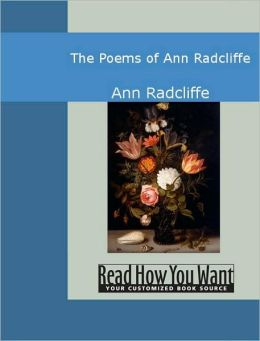 The Poems of Ann Radcliffe