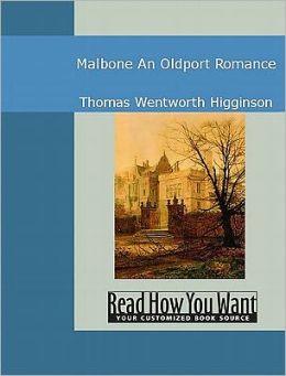 Malbone: An Oldport Romance