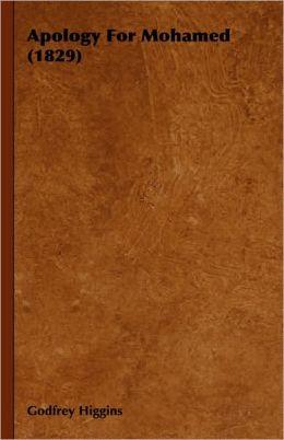 Apology For Mohamed (1829)