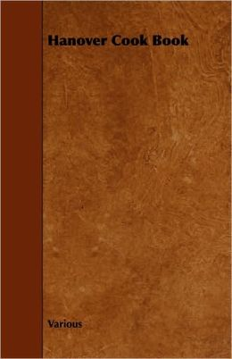 Hanover Cook Book