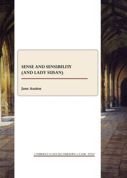 Sense and Sensibility (and Lady Susan)