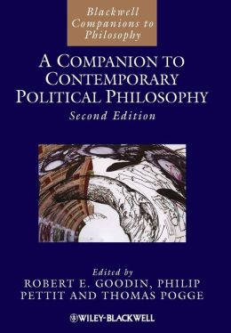 A Companion to Contemporary Political Philosophy