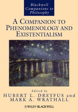 A Companion to Phenomenology and Existentialism