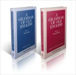 A Grammar of Old English, 2-volume set