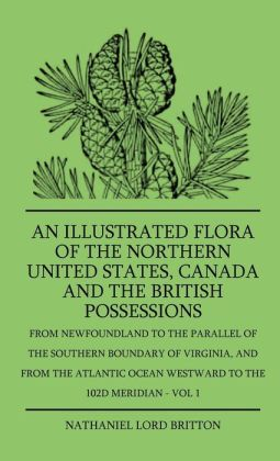 An Illustrated Flora Of The Northern United States, Canada And The British Possessions - From Newfoundland To The Parallel Of The Southern Boundary Of Virginla, And From The Atlantic Ocean Westward To The 102d Meridian - Vol 1