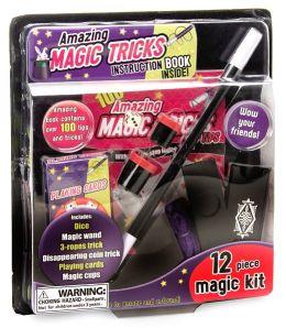 Amazing Magic Tricks: 12 Piece Magic Kit