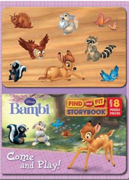 Bambi Disney Fit & Find