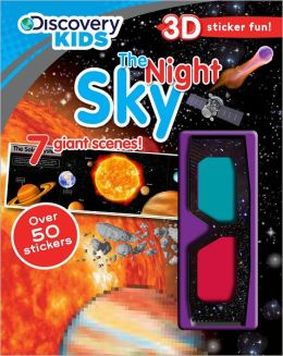 Discovery 3 Sticker Scene Night Sky