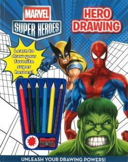 Marvel Superheroes How to Draw Activity Book