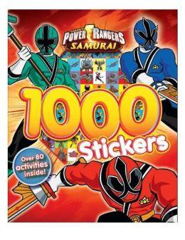 Power Rangers 1000 Stickers