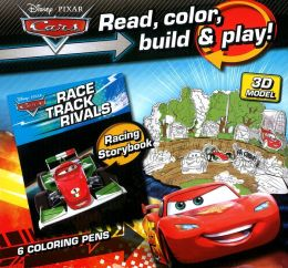 Cars Disney Read, Play, Build Color