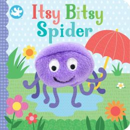 Little Learners Finger Puppet Itsy Bitsy Spider