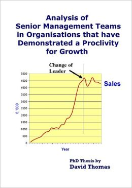 Analysis of Senior Management Teams that Have Demonstrated a Proclivity for Growth