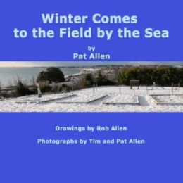 Winter Comes To The Field By The Sea