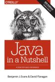 Book Cover Image. Title: Java in a Nutshell, Author: Benjamin J Evans