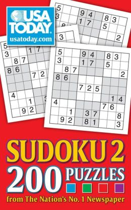 USA TODAY Sudoku 2: 200 Puzzles from The Nation's No. 1 Newspaper