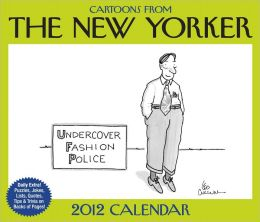 2012 Cartoons from The New Yorker Box Calendar