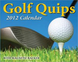 2012 Golf Quips Mini Box Calendar