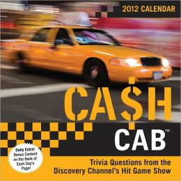 2012 Cash Cab Box Calendar