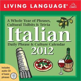 2012 Living Language: Italian Box Calendar