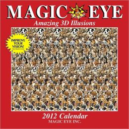 2012 Magic Eye Wall Calendar