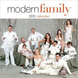 2012 Modern Family Wall Calendar