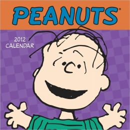 2012 Peanuts Mini Wall Calendar