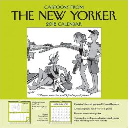 2012 Cartoons from The New Yorker Weekly Wall Calendar