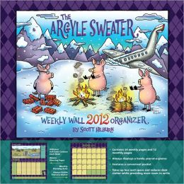 2012 Argyle Sweater, The Weekly Wall Calendar