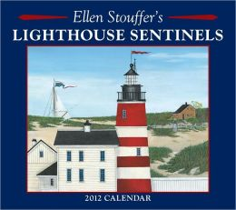 2012 Brookside: Lighthouse Sentinels Wall Calendar