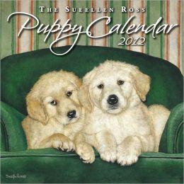 2012 Brookside: Puppy Mini Wall Calendar