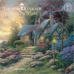 2012 Thomas Kinkade Painter of Light Mini Wall Calendar