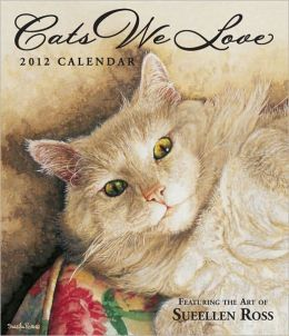 2012 Brookside: Cats We Love Weekly Planner Calendar
