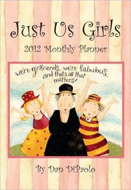 2012 Brookside: Just Us Girls Monthly Pocket Planner