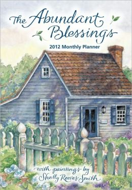 2012 Brookside: Abundant Blessings, The Monthly Pocket Planner Calendar