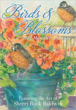 2012 Brookside: Birds & Blossoms Monthly Pocket Planner Calendar