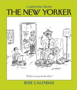 2012 Cartoons from The New Yorker Weekly Planner Calendar