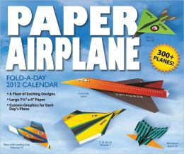 2012 Paper Airplane Box Calendar