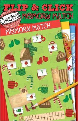 Flip & Click Christmas Memory Match