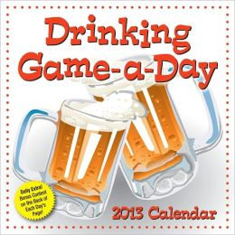 2013 Drinking Game-a-Day Calendar
