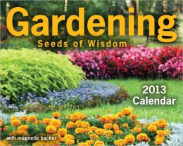 2013 Gardening: Seeds of Wisdom Mini Box Calendar