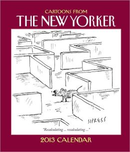 2013 Cartoons from The New Yorker Weekly Planner Calendar