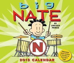 2013 Big Nate Box Calendar