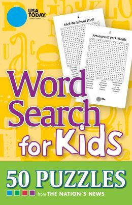 Usa today word search for kids 50 puzzles by usa today