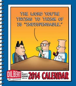 2014 Dilbert Weekly Planner Calendar