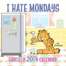 2014 Garfield Wall Calendar